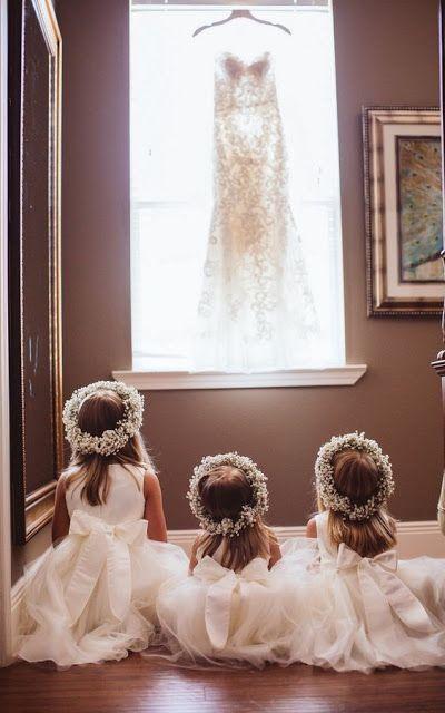 piccole damigelle di nozze