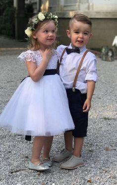 paggetto e damigella di nozze