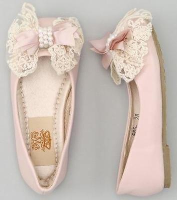 ballerine rosa bimba damigella di nozze
