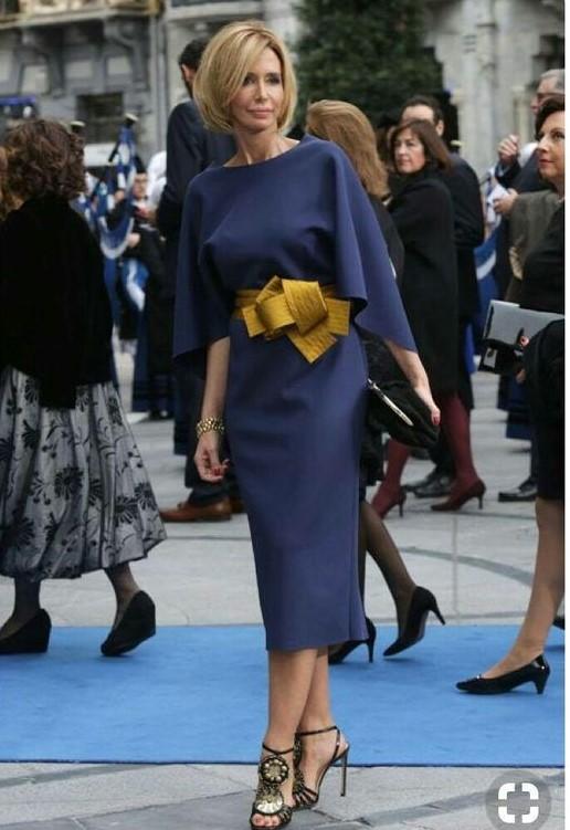 abito da cerimonia con cintura particolare