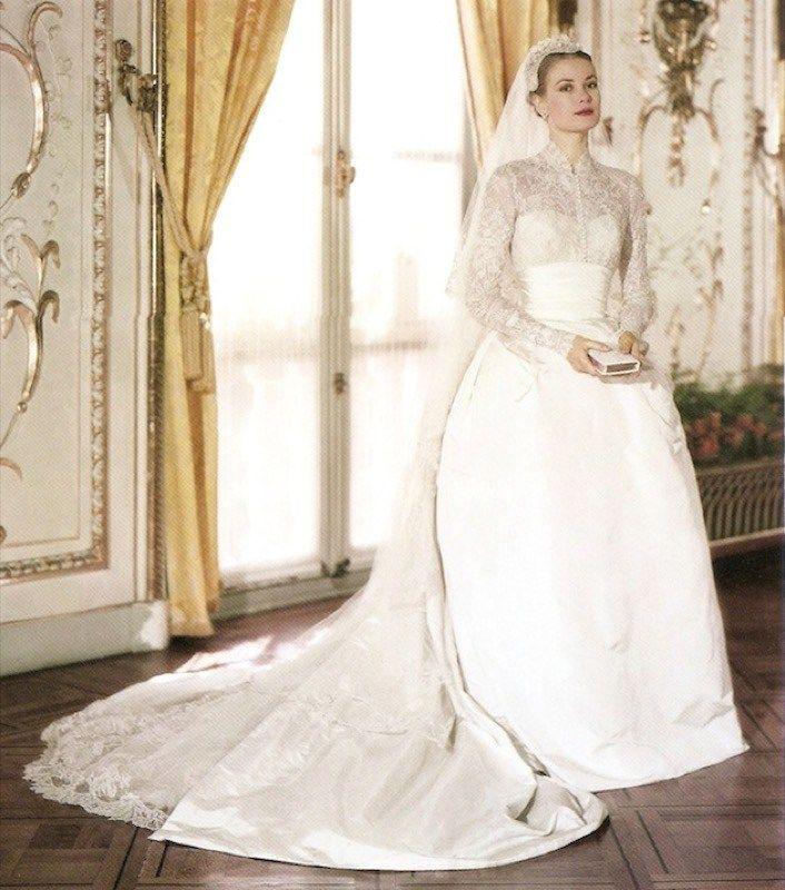 Gli abiti da sposa delle dive: Grace Kelly