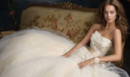 abito da sposa Lazaro 2014