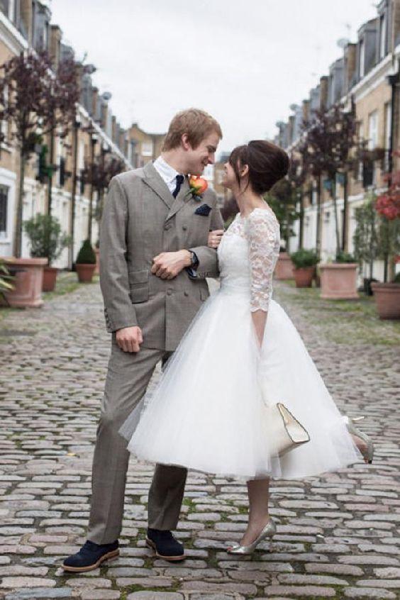 abito da sposa vintage anni 50