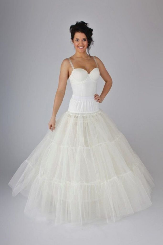 sottogonna sposa in tulle