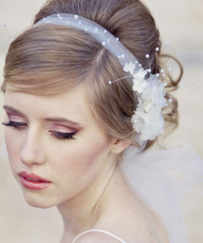 fascia in tulle da sposa
