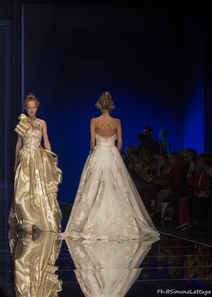 abiti da sposa sfilata Elisabetta Polignano 2020
