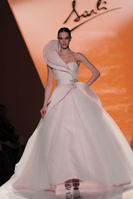 vestitto da sposa  rosa Sarli