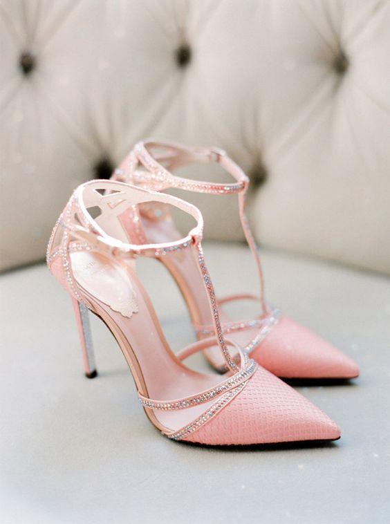 Scarpe Mary Jane  rosa