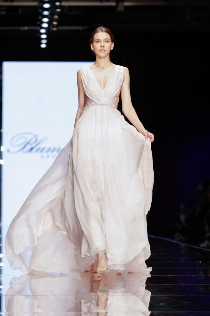vestito da sposa rosa Blumarine 2020