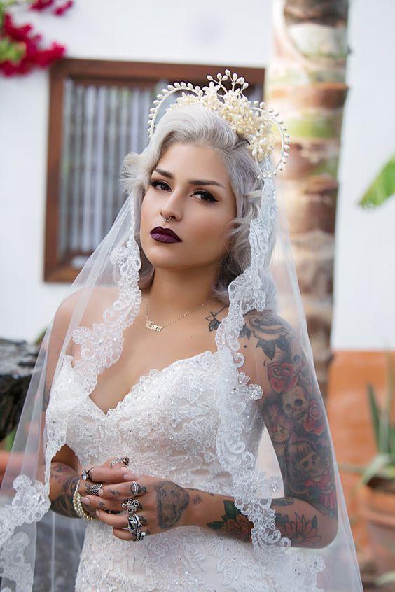sposa tatuata mood anni 50