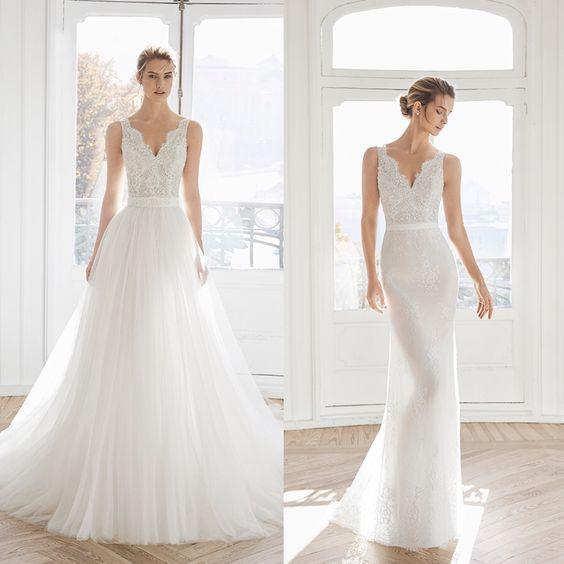 abito da sposa 2 in uno