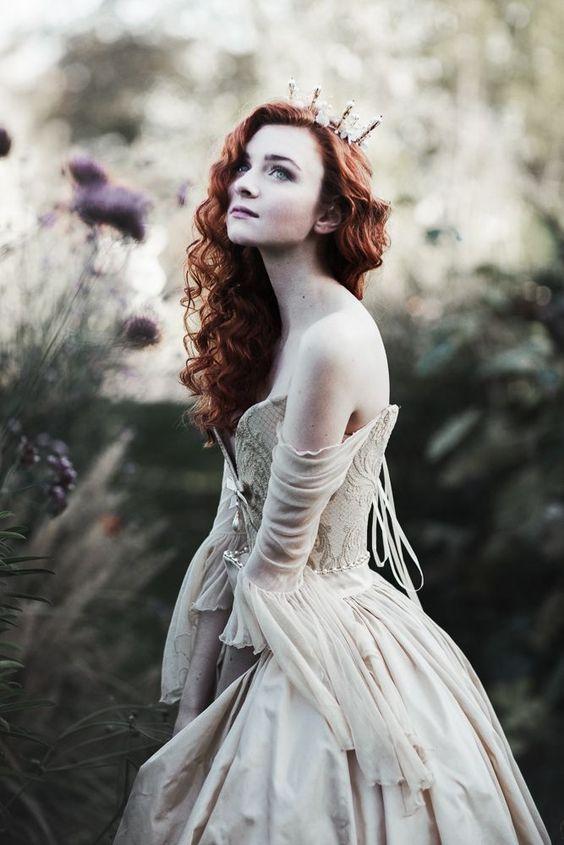 sposa regale stile Fantasy