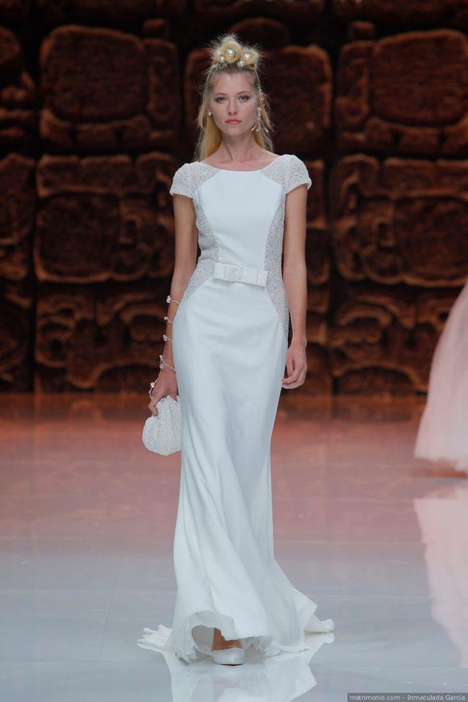 abito da sposa bobn ton effetto chanel