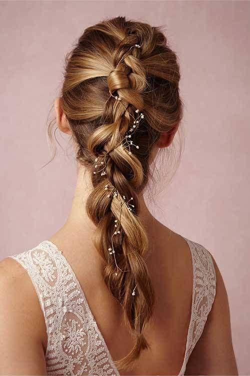 hairstyle sposa treccia