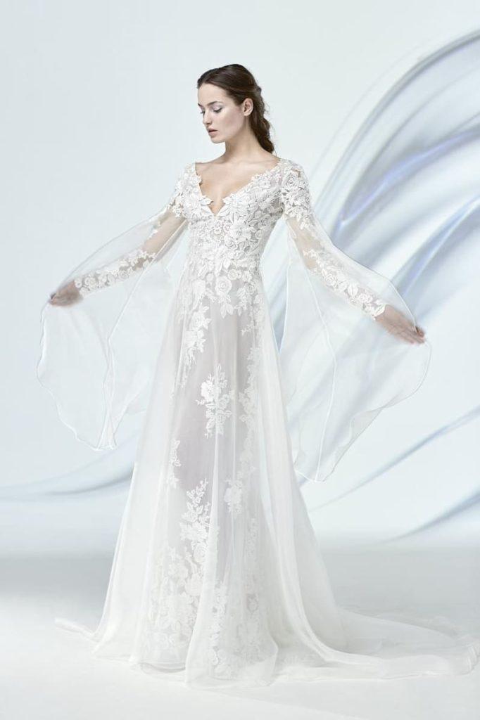 abito da sposa Pignatelli stile impero