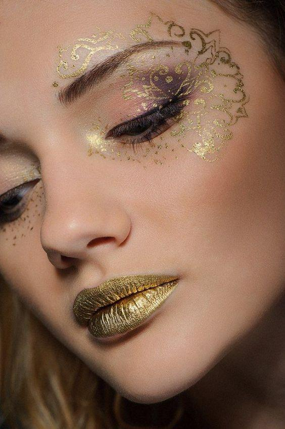 Make up art sposa oro