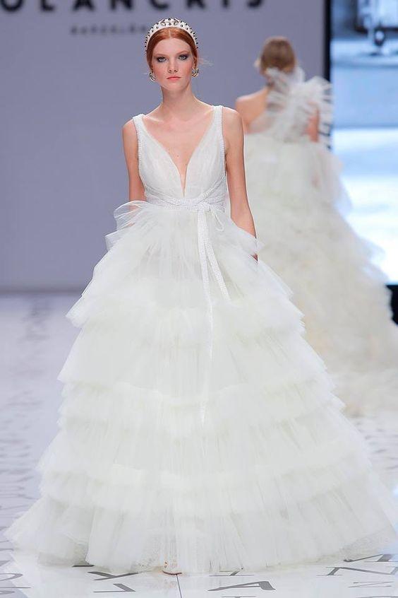 abito da sposa ampio  Yolan Cris