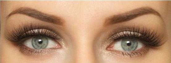 trucco da sposa occhi azzurri