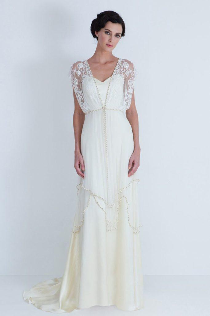 abito da sposa stile vintage  anni trenta Catherine Deane