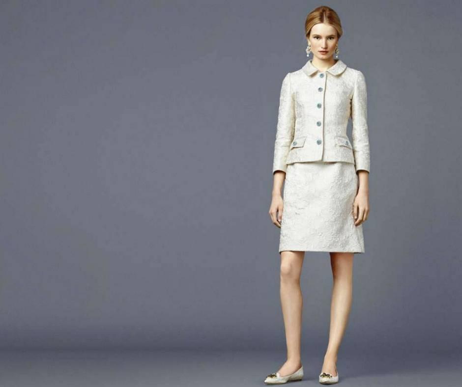 tailleur sposa stile anni 60   Dior