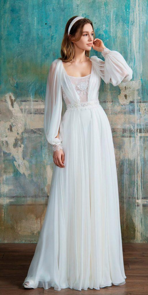 abito da sposa stile anni 40 Blumarine collezione 2021