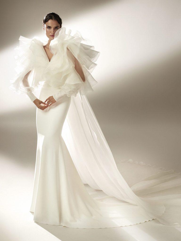 abito da sposa 2021  collezione Pronovias