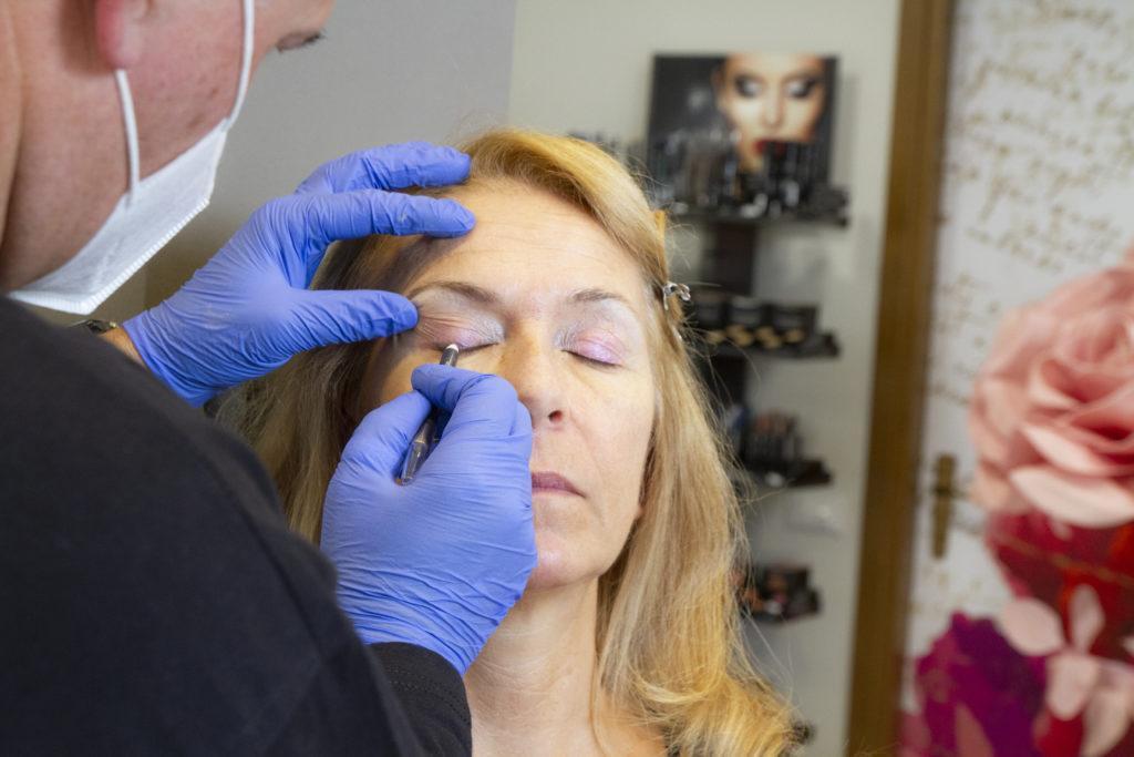 makeup sposa matura occhi