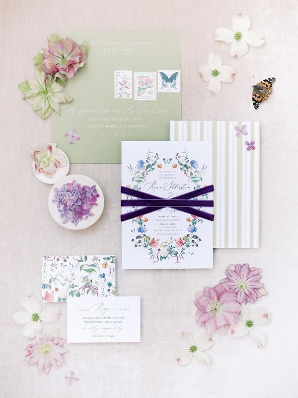 inviti nozze tema farfalle