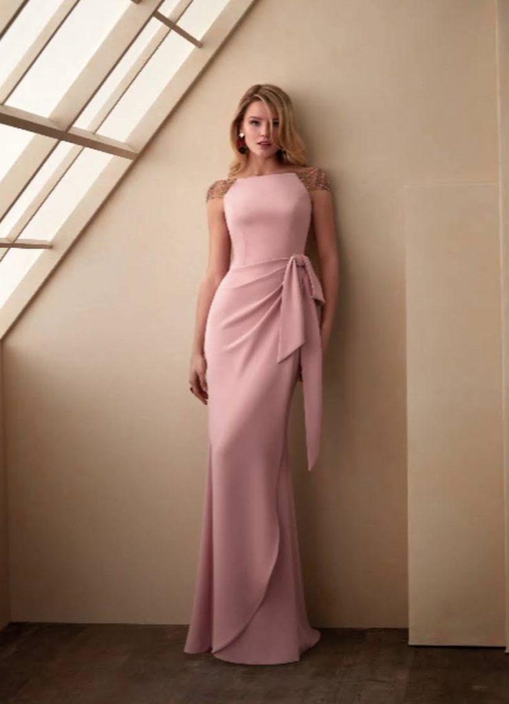 abito da sera/cerimonia/sposa rosa